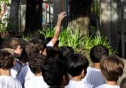 Primeiro Ano do Ensino Fundamental I conhece o Colégio de São Bento.