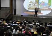 Ética na escola é tema de palestra