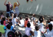 Creche Recanto Feliz recebe visita de alunos do Colégio de São Bento