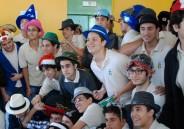 Os alunos da 3ª série do Ensino Médio e o Dia do Chapéu