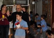 Procissão de Nossa Senhora com os alunos do EFI