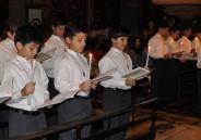 Primeira Eucaristia da turma 52 EFI