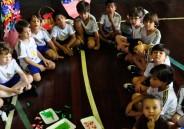 1º ano EFI recebe alunos da Creche Recanto Criança Feliz