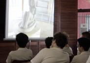 Palestra sobre Modernismo para os alunos da 3ª série do EM