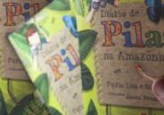 Autora Flávia Lins e Silva autografa livros no CSB