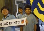 Representantes do 5º ano EFI vão à Candelária