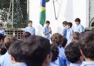 Hora Cívica para meninos do EFI