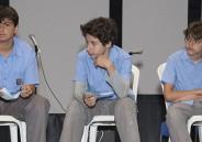Alunos do 5º e 6º anos conversam sobre transição