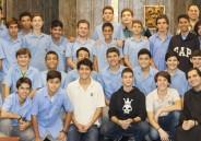 Dom Anselmo abençoa intercâmbios dos alunos