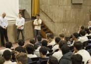 Ex-alunos, Engenheiros do IME, conversam com EM