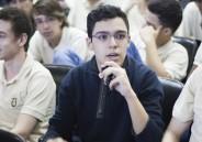 Faculdade de Lisboa palestra para Ensino Médio