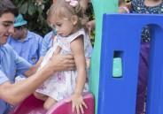 9º ano EFII visita Creche Recanto da Criança Feliz