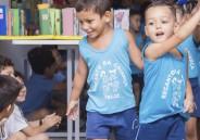 CSB recebe crianças da Creche para manhã de convivência