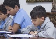 Representantes do 5º ano EFI conversam com Reitor
