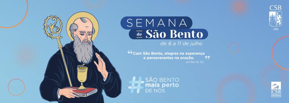 Semana de São Bento é celebrada pela Comunidade