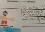 Papa Francisco responde às cartas dos alunos beneditinos