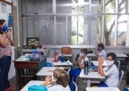 Monges visitam alunos do 3º ano EF