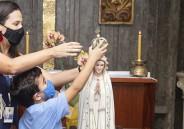 Coroação de N. Senhora com alunos do EF